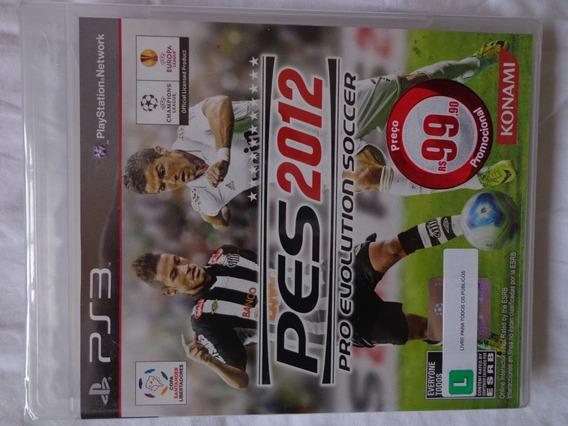 Pro Evolution Soccer 2012 Pes Ps3 Lacrado Preço 28 - Dvdsdf1