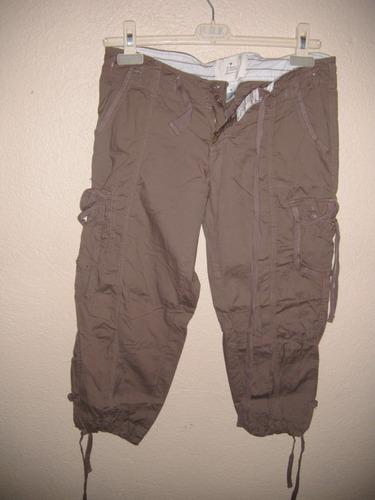 Pantalon Para Dama Talla S Color Cafe Tipo Pescador Mercado Libre