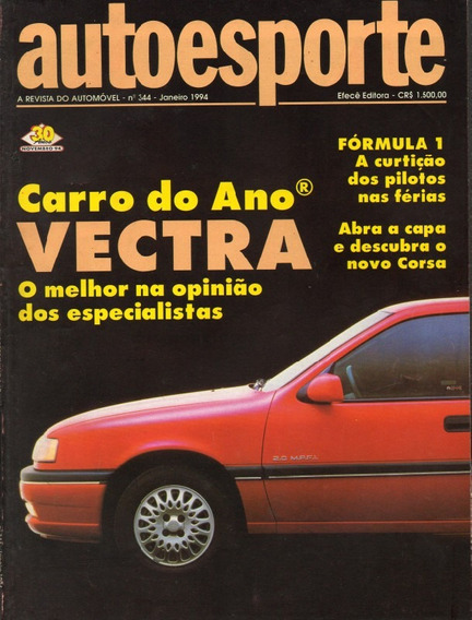 Auto Esporte Nº344 Vectra Uno 1.6r Mpi Logus Gls 2000 Corsa