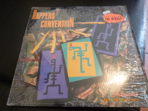 Vinilo Lp De Rappers Convention   -the Wiggle (u431