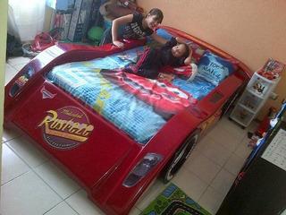 Cuna Para Bebe Colchón Individual Ferrari Varios Diseños