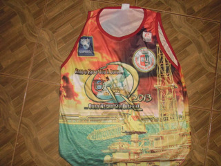 Camisa Da Escola De Samba Grande Rio Petróleo