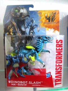 Transformers 4 Dinobot Slash Deluxe Pelicula 4 Aoe Nuevo