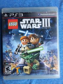 Lego Star Wars Iii 3 The Clone Wars Ps3 Midia Fisica