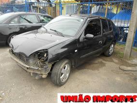 Sucata Renault Clio Sedan 1.0 Retirada De Peças