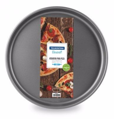 Molde Para Pizza Antiadherente Tramontina 30 Cm