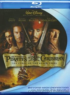Blu-ray Pirates Of The Caribbean 1 / Piratas Del Caribe 1