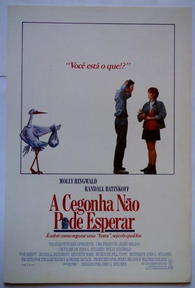 Cartazete/sinopse A Cegonha Não Pode Esperar Não É Dvd