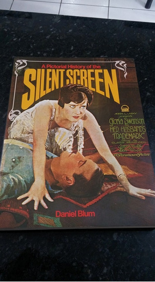 Livro A Pictorial History Of The Silent Screen !!! Ingles.