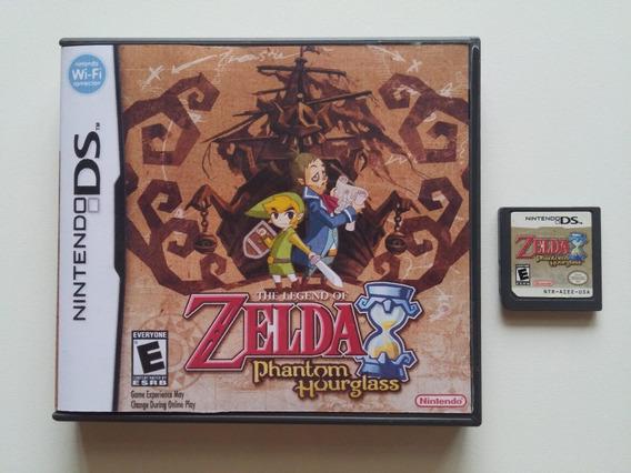 Nds: Zelda Phantom Hourglass Rpg Americano Na Caixa! Jogaço!