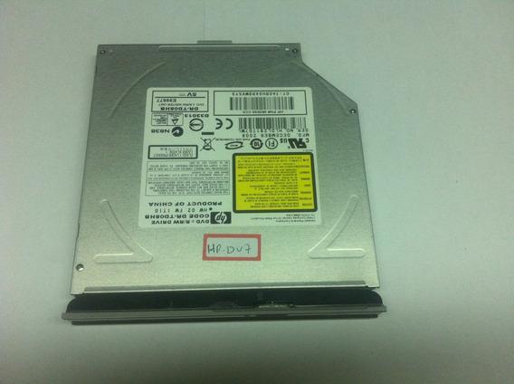 Gravador Dvd/rw Notebook Hp Dv7-1245 Dourado