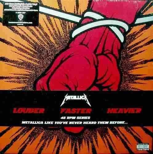 Metallica St Anger Vinilo Box Set 4lp