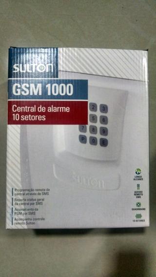 Central De Alarme Sulton 10 Setores Gsm Auto Monitoravel