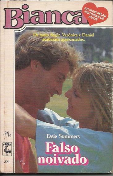 Livro Romance Bianca Nº 321 - Falso Noivado