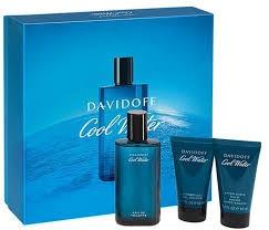 Set Perfume Cool Water Davidoff Hombre,3pcs,100 % Original