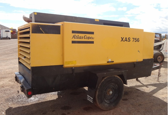 Compresor Remolcable 750 Cfm Atlas Copco 8367