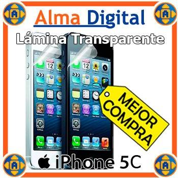 Lamina Protector Pantalla iPhone 5c 5s 5 Transparente +paño