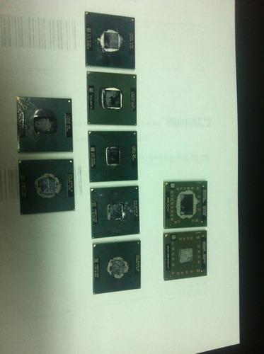 Processadores Notebook Diversos Intel E Amd