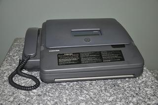 Fax Toshiba Facsimile 5600 110v - Defeito