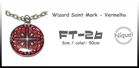Colar Wizard Saint Mark - Vermelho