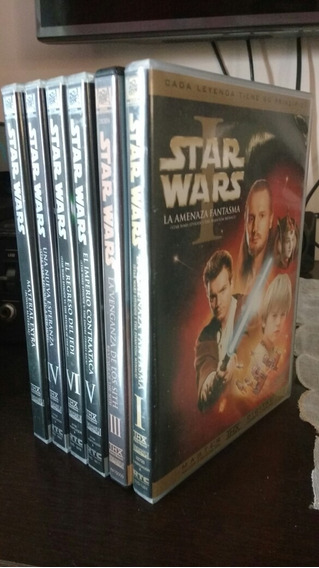Dvd Star Wars Saga 6 Dvds Importado