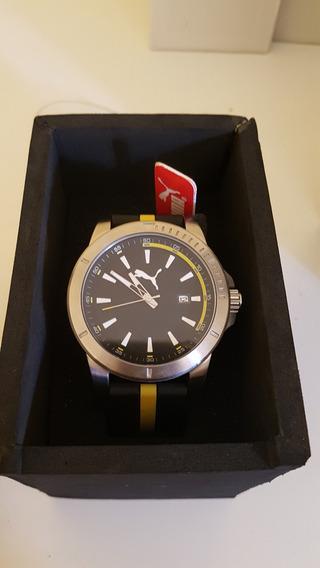 Relógio Masculino Puma Analogico - 96265gopmnu1 Preto/verde