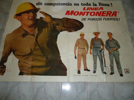Afiche Publicidad Alpargatas 1 Mt. X 1.50