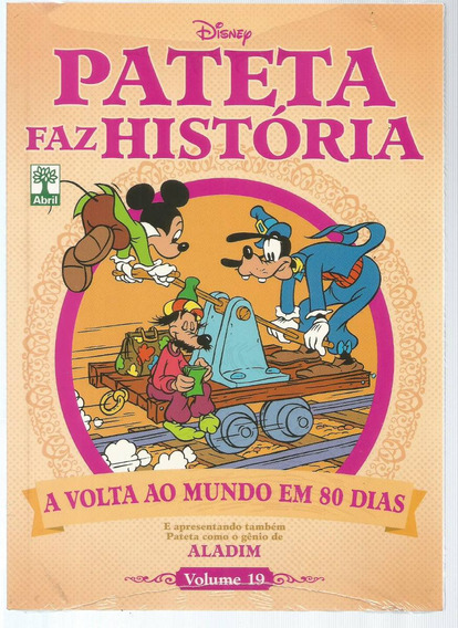 Pateta Faz Historia 19 Volta Ao Mundo - Bonellihq Cx330 F18