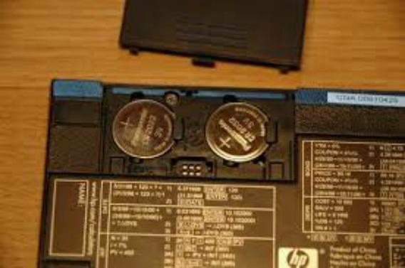 Kit Baterias Modelo Cr2032 Para Calculadora Hp12c