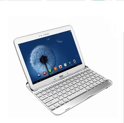 Teclado Bluetooth Aluminio Galaxy Tab 3 Gt-p5200 5210 Blanco
