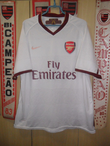 Camisa Arsenal ( Branca / N º 4 )