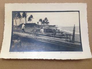 Um Cartão Postal Antigo Olinda Pe Praia Do Farol Anos 50