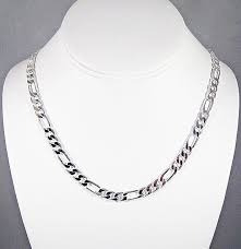 Cadena De Plata Sterling .925 De 50 Cm 3mm