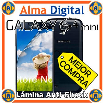 Lamina Protetor Pantalla Antigolpe Samsung S4 Mini Siv