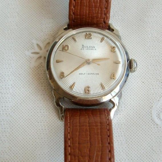 Relógio De Pulso Unisex Automatico Bulova - 23 Jewels!!