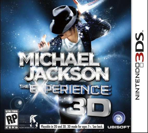 Jogo Michael Jackson The Experience 3d Para Nintendo 3ds