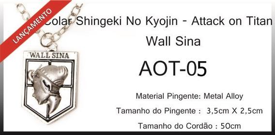 Colar Titã Wall Sina
