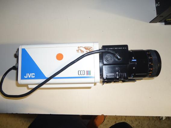 Camera Jvc Tk-870u + Lente Lens Hz C611af