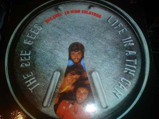 Bee Gees La Vida Enlatada Lp Nacional