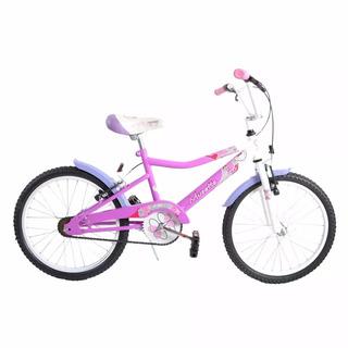 Bicicleta Nena Musetta Fantasy 20 + Bolsito - Racer Bikes
