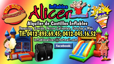 Inflables Alicer,alquiler Castillos,perros,tobogán,cotufas