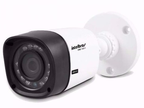 Camera Intelbras Infra Hdcvi 720p Hd Vhd 1010b 3,6 Mm 10 Mts