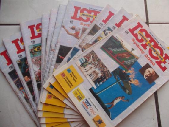 Revista Isto É Jogos Olímpicos Sidney 2000 Preço Unitário