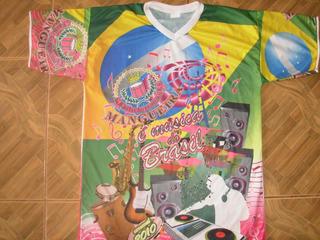 Camisa Da Mangueira Musica Do Brasil 2010