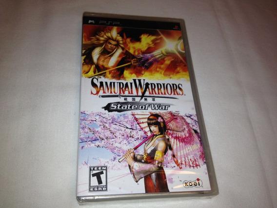 Samurai Warriors State Of War (sony Psp, 2006) Lacrado