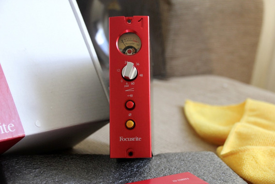 Focusrite Red 1 Api Series 500 Preamp Neve Lunchbox!! Isa