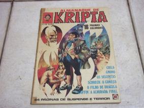 Almanaque De Kripta - Junho De 1977 - Rge - Bom Estado