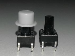 Knob - Capas Coloridas P/ Chave Táctil - Plástico - 102 Pçs