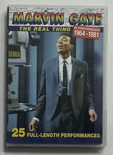 Dvd Marvin Gate The Real Thing 1964-1981 - 25 Full Performan