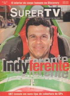 Supertv 1999 Teo José Formula Indy Raul Gil Hermeto Pascoal